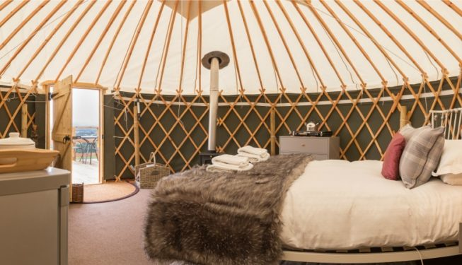 Yurt Heather