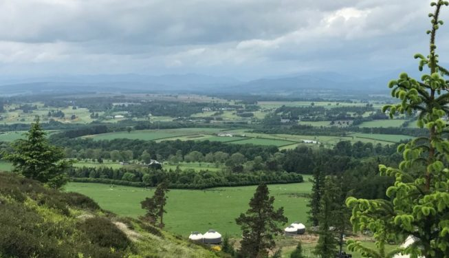 Glamping Yurts in Perthshire