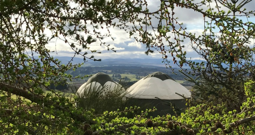 Yurt Glamping | Alexander House | Perthshire