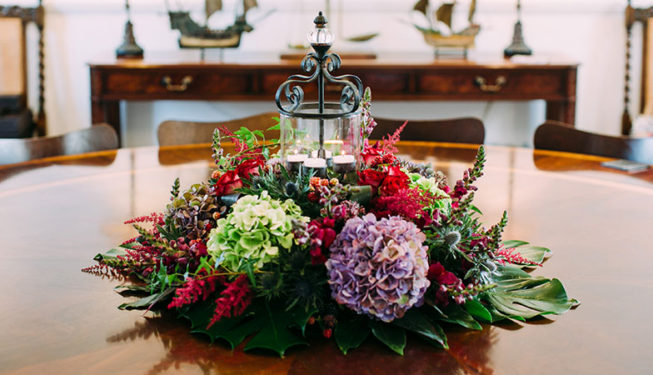 Local florists can dress your special occasion at Alexander House