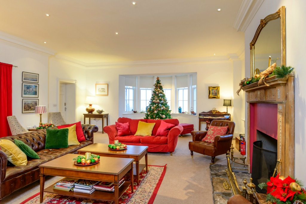 Enjoy Christmas at Alexander House, luxury accommodation for up to 21