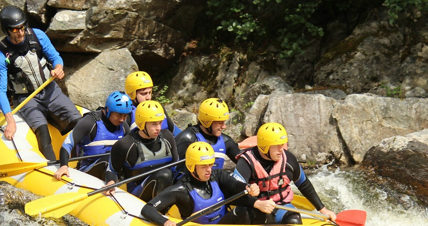 Team Building Away Days Perthshire | White Water Rafting