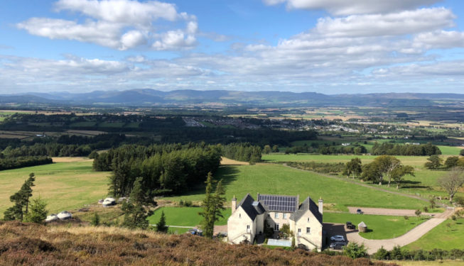 Glamping in Scotland | Luxury Yurts with Wood Fired Hot Tubs