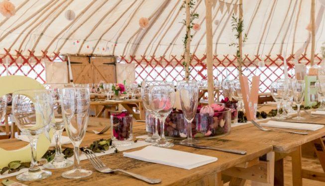 Yurt Wedding Venue Perthshire | Festival Weddings | 75-120 Guests | Onsite Glamping