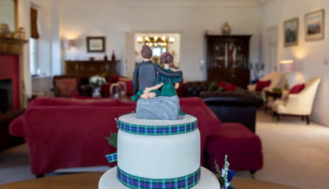 Small and intimate wedding venue near Gleneagles, Perthshire
