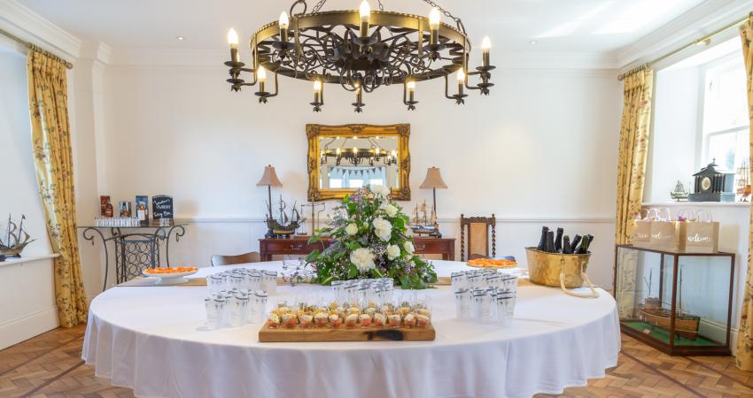 Small and intimate wedding venue near Gleneagles, Perthshire