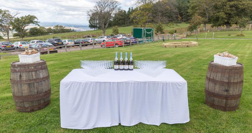 Marquee Weddings   Near Gleneagles Perthshire   Alexander House