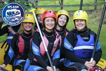 Perthshire Hen Do Ideas - Splash White Water Rafting Offer