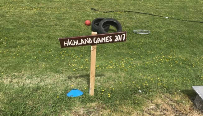 Wedding Guest Games - mini Highland Games