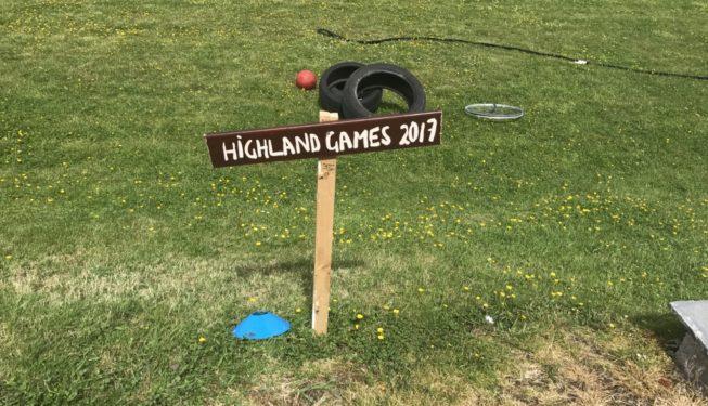 Wedding Guest Games - mini Highland Games