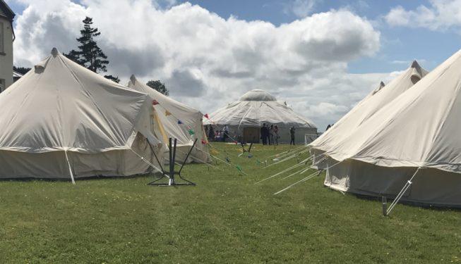 Yurt Wedding Venue Perthshire   Festival Weddings   75-120 Guests   Onsite Glamping