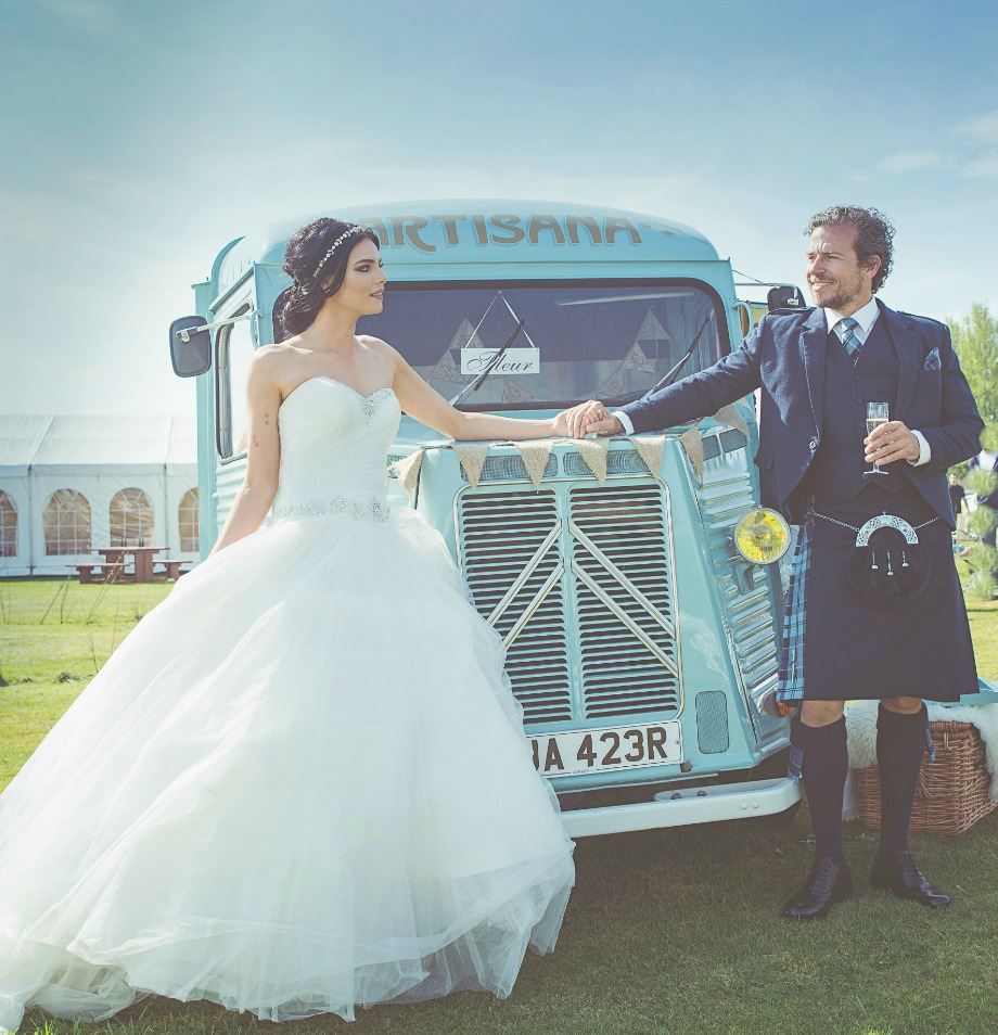 Artisana Bakes - Vintage Citroean Van Wedding Hire & Catering Ideas