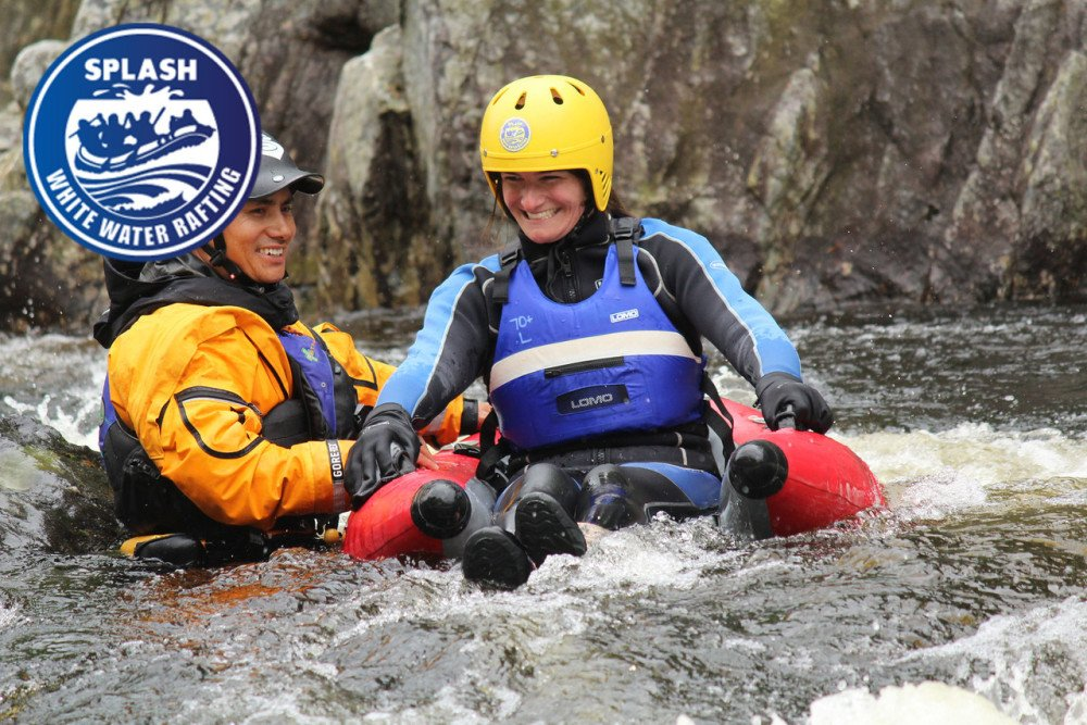 Perthshire Hen Do Ideas - Spalsh White Water Rafting