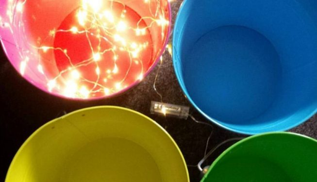 Scottish Festival Wedding - Fairy Lighting Ideas