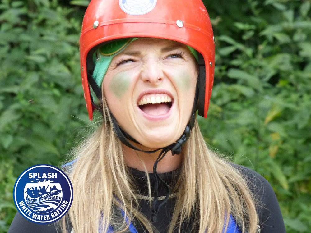Perthshire Hen Do Offer - Spalsh Rafting Perthshire