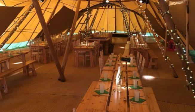 Wedding Lighting Ideas | Indoor Fairy Light Lighting