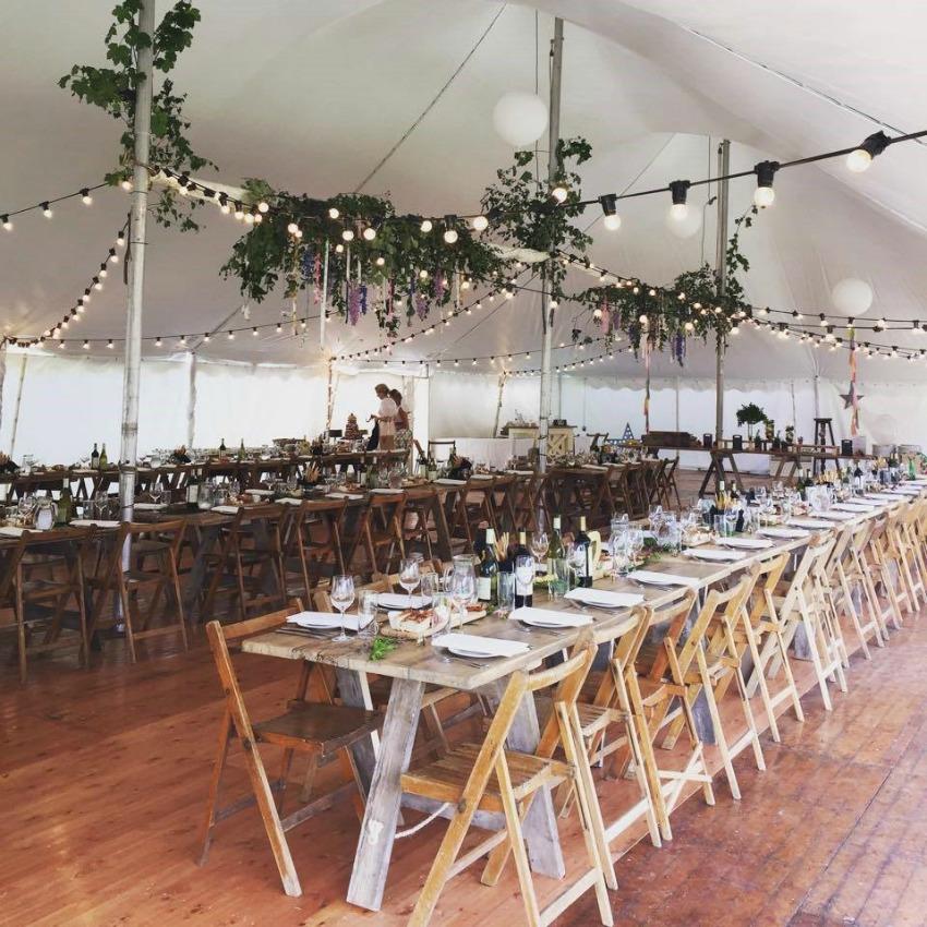 Wedding Lighting Ideas | Indoor Festoon Lighting
