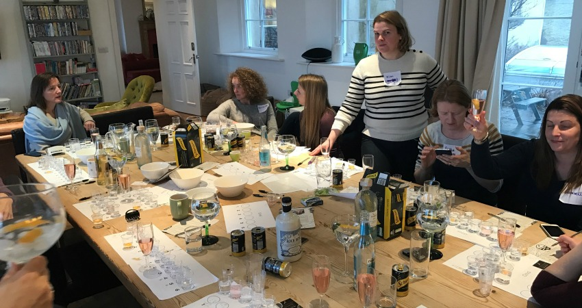 Gin Tasting Experience | Perthshire Hen Do Ideas