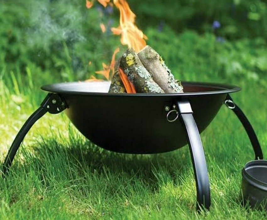 The Range Fire Pit Part - 31: There Are Loads Of Options Available To Choose From Like The Portable La  Hacienda Camping Fire Pit Stocked By The Range Shown Below.
