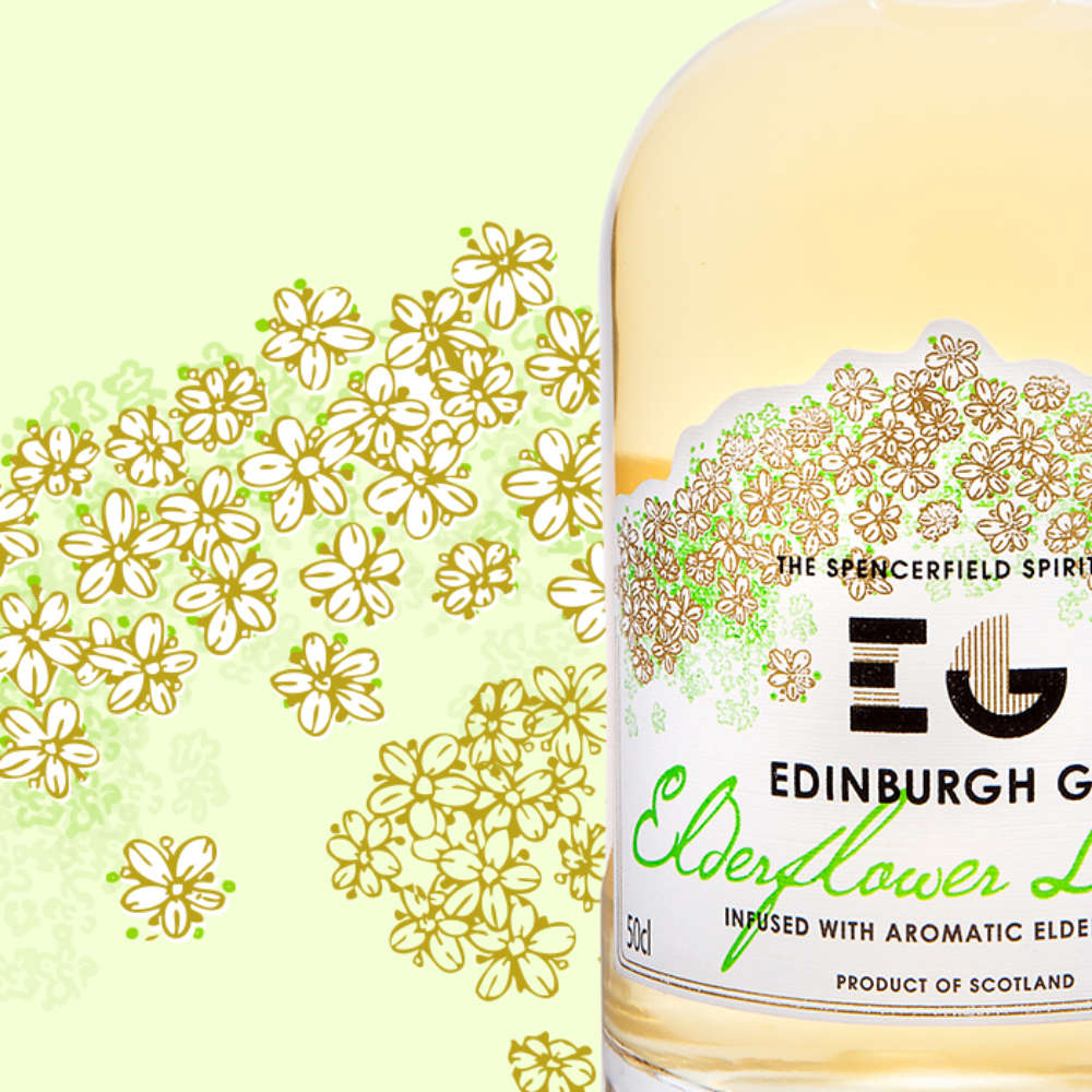 Wedding Drinks | Gin Cocktails | Edinburgh Gin Elderflower Liqueur & Prosecco