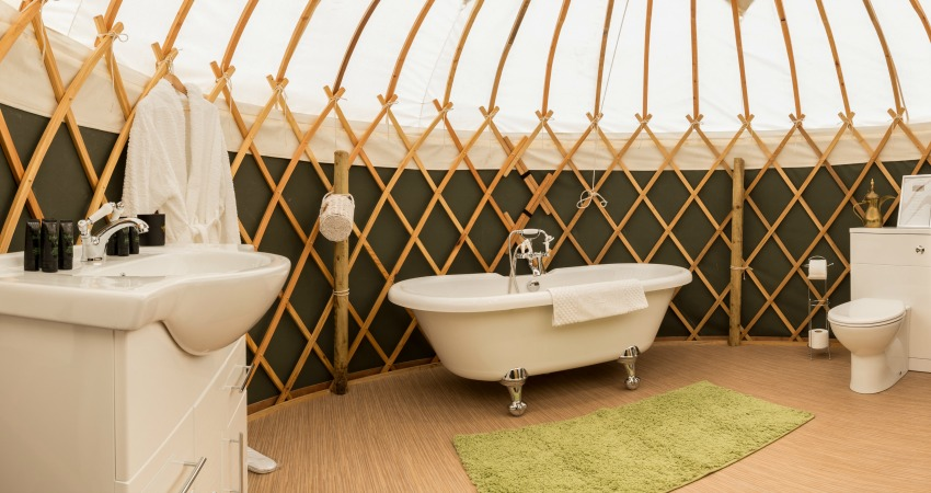 Yurt Heather | Glamping Yurts Scotland Perthshire