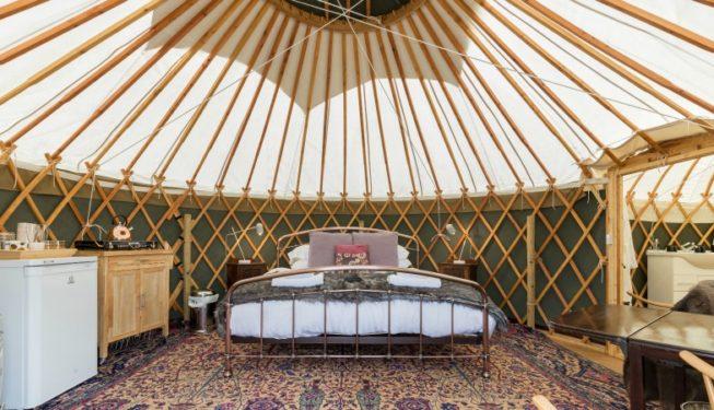 Yurt Bramble Interior
