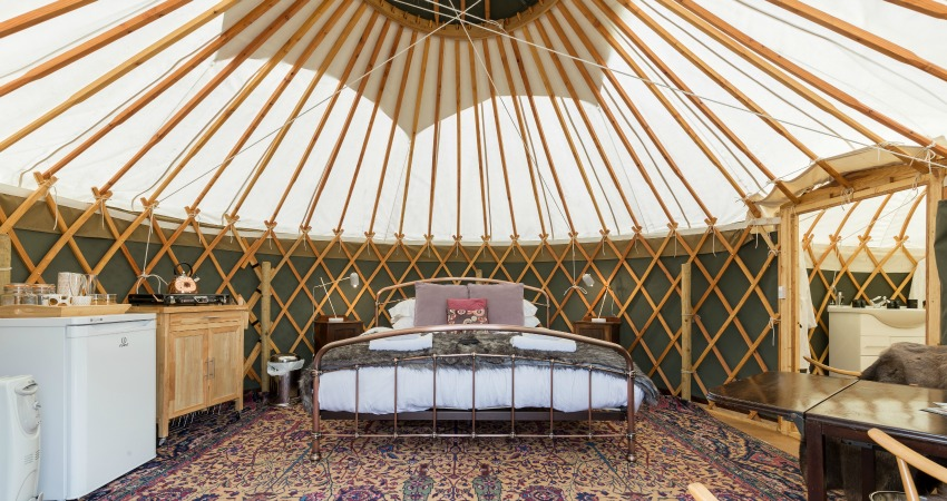 Yurt Bramble Interior