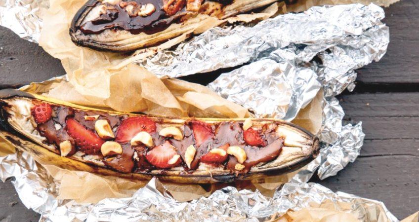 Banana Boats | Camp Fire Cooking - Pudding Recipes
