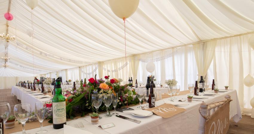 Marquee Weddings | Near Gleneagles Perthshire | Alexander House
