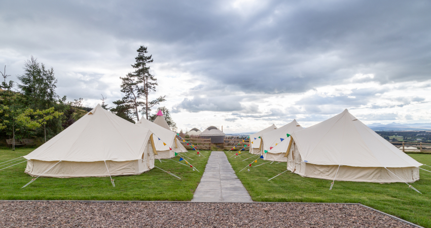Marquee Weddings | Near Gleneagles Perthshire | Alexander House