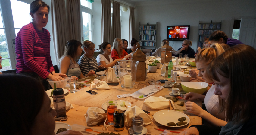 Hen Do Ideas | Turkish Food Masterclass Perthshire
