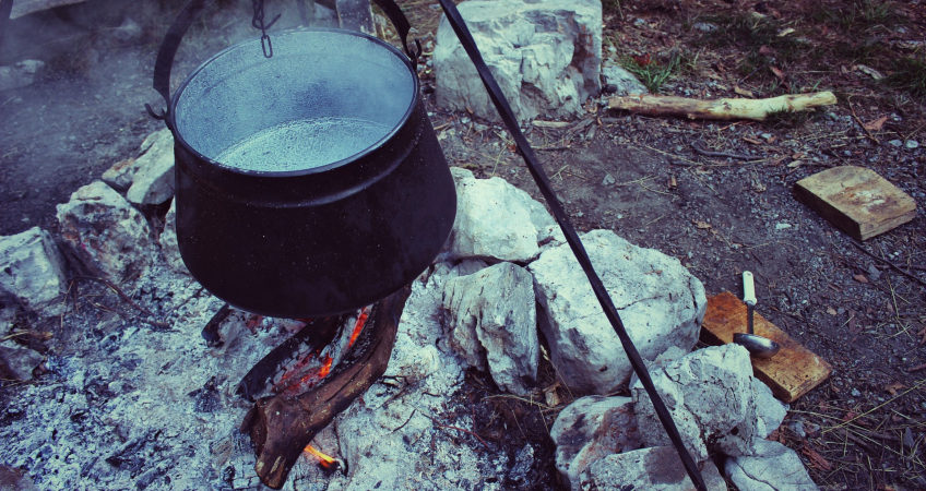 Easy Campfire Stew Recipes | Campfire Cooking | Glamping in Scotland
