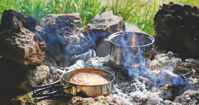 Campfire Bread Recipes | Campfire Cooking | Glamping in Scotland