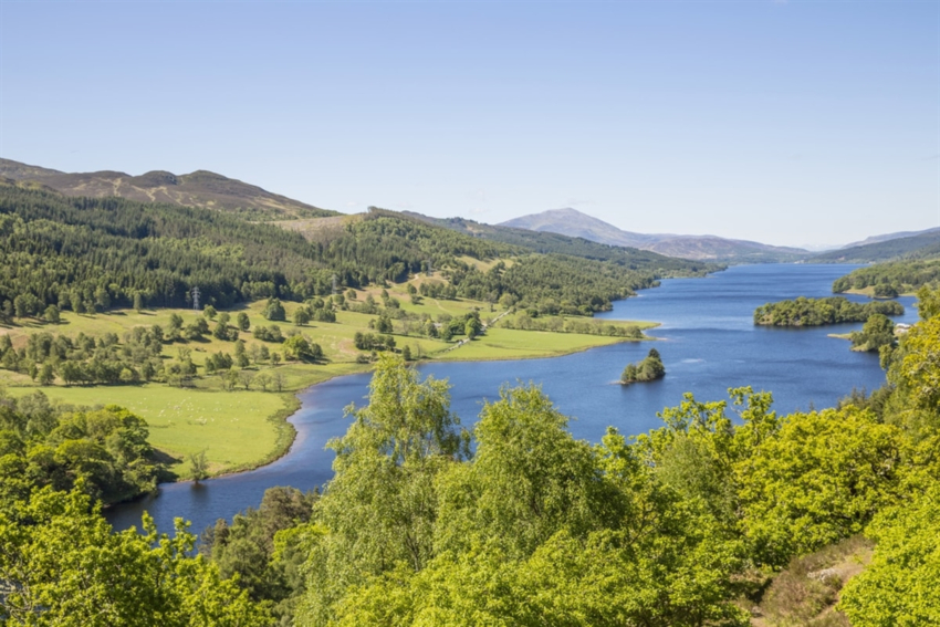Queens View SCOTLAND | Things to Do at Alexander House Perthshire