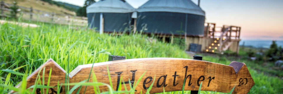 A refreshing glamping experience, luxury yurts in Scotland